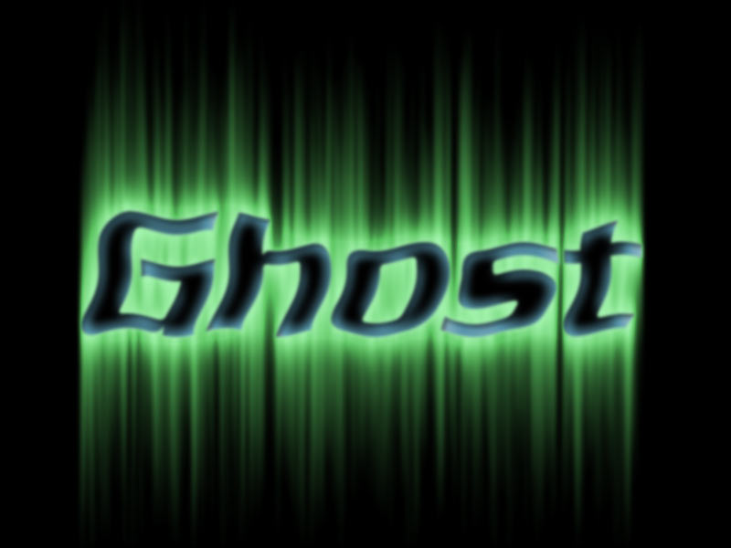 Photoshop Tutorial: Spooky Ghost Text Effect with Aura