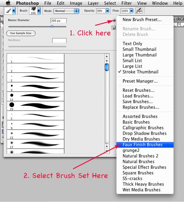 Photoshop Tutorial: Installing Brushes